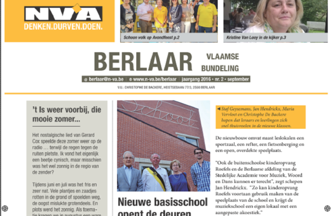 Huis-aan-huisblad September 2016